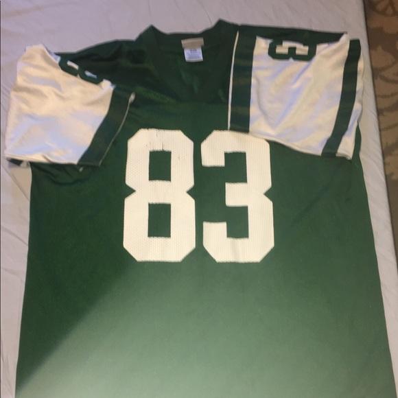 abbc322a491 Reebok Shirts | Jersey Santana Moss 83 Jets | Poshmark